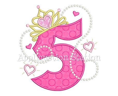 Princess Tiara Number 5