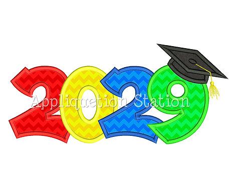 2029 Graduation Cap