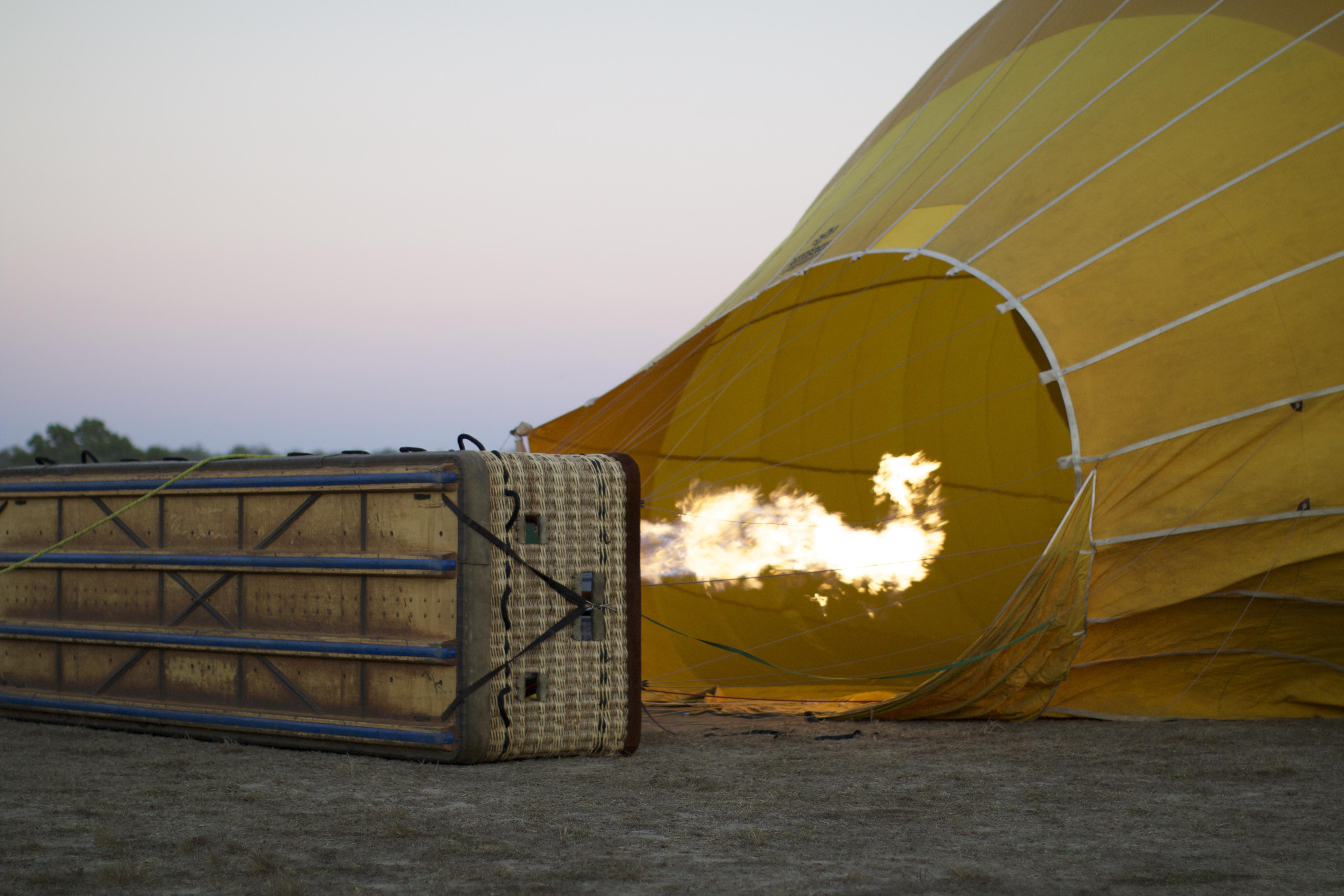 Sunrise flight over the Atherton