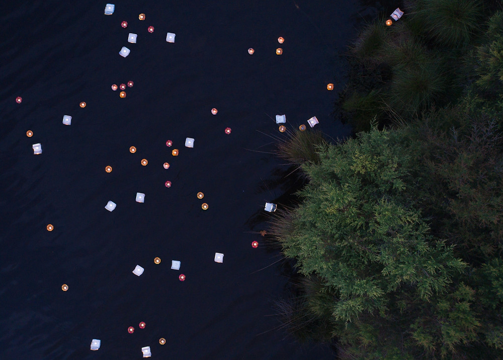 Aerial image of Lanterns on the Lake, Wentworth Falls