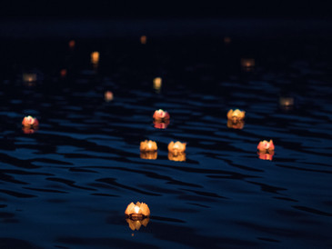 Light your lantern, make a wish…