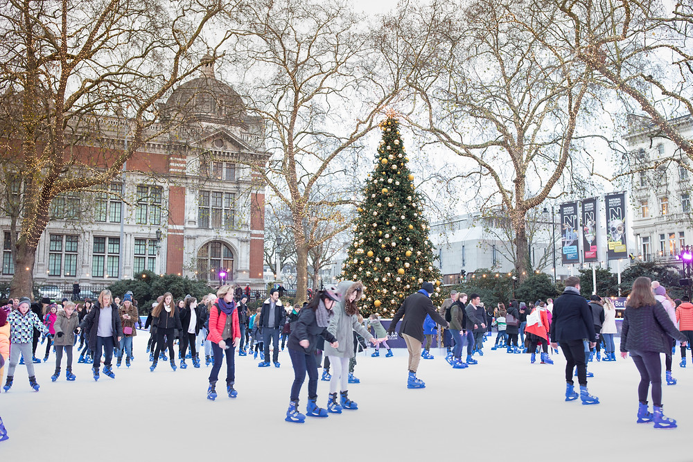 London Ice Skaters