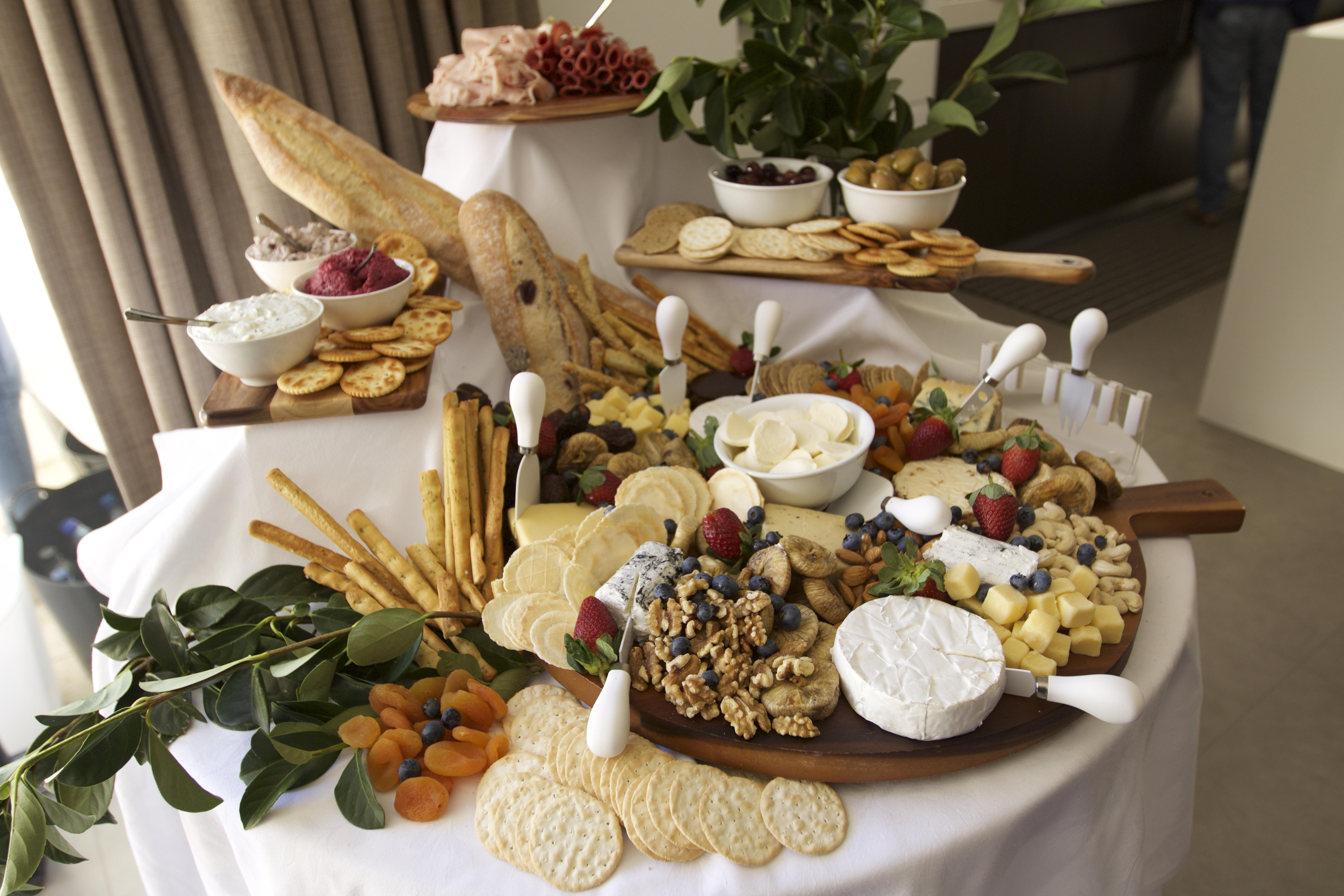 50th birthday grand cheese board