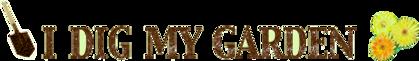 Logo of  I dig my garden forum