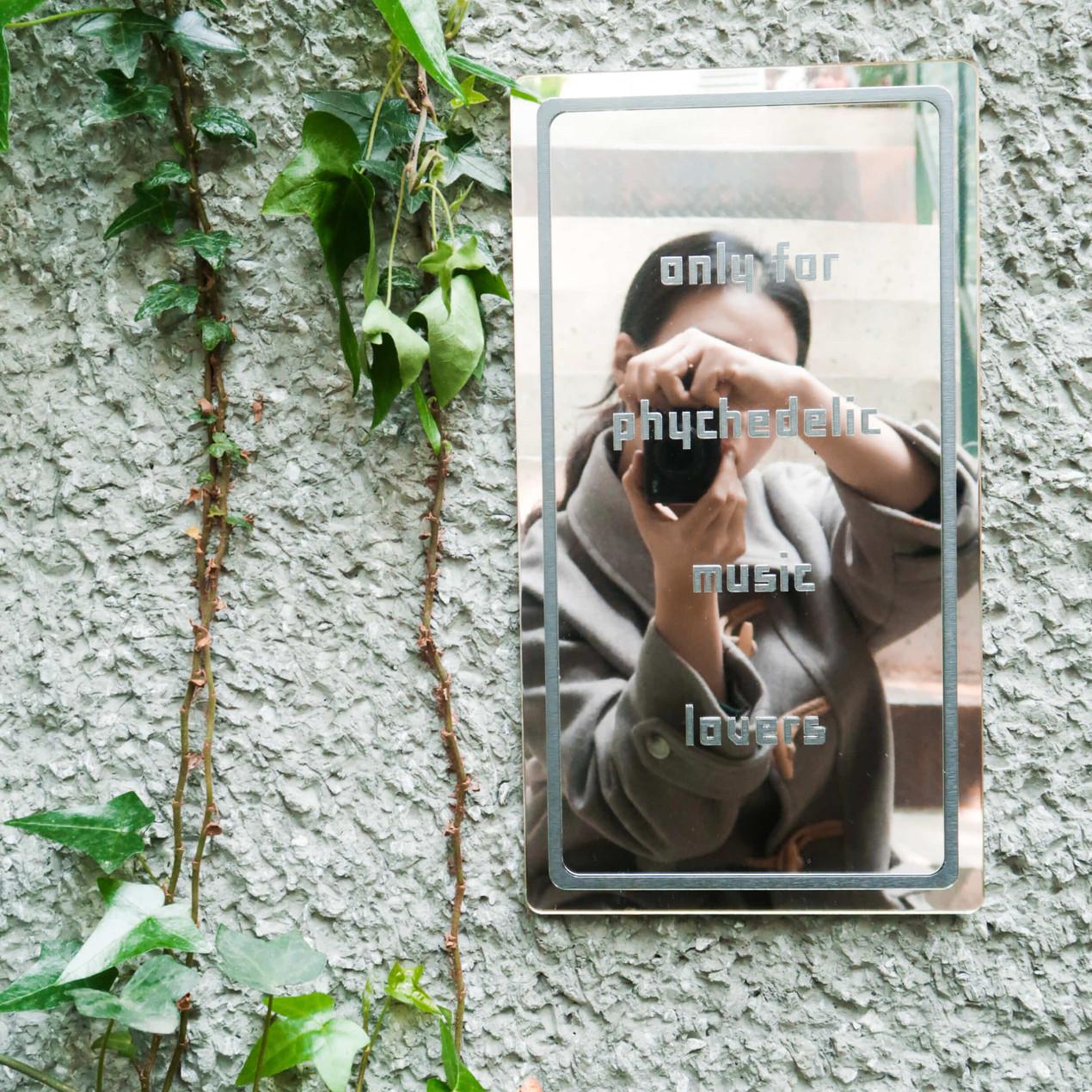거울 현판, 거울 간판, 거울 사인