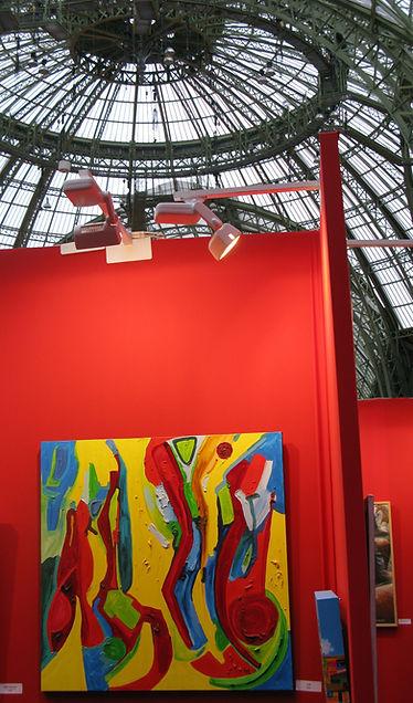 Cyb Peintre, Salon des Artistes Indépendants