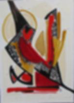 La promesse (100 x 73cm) Huile sur toile