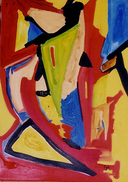 Cyb Peintre Abstraction