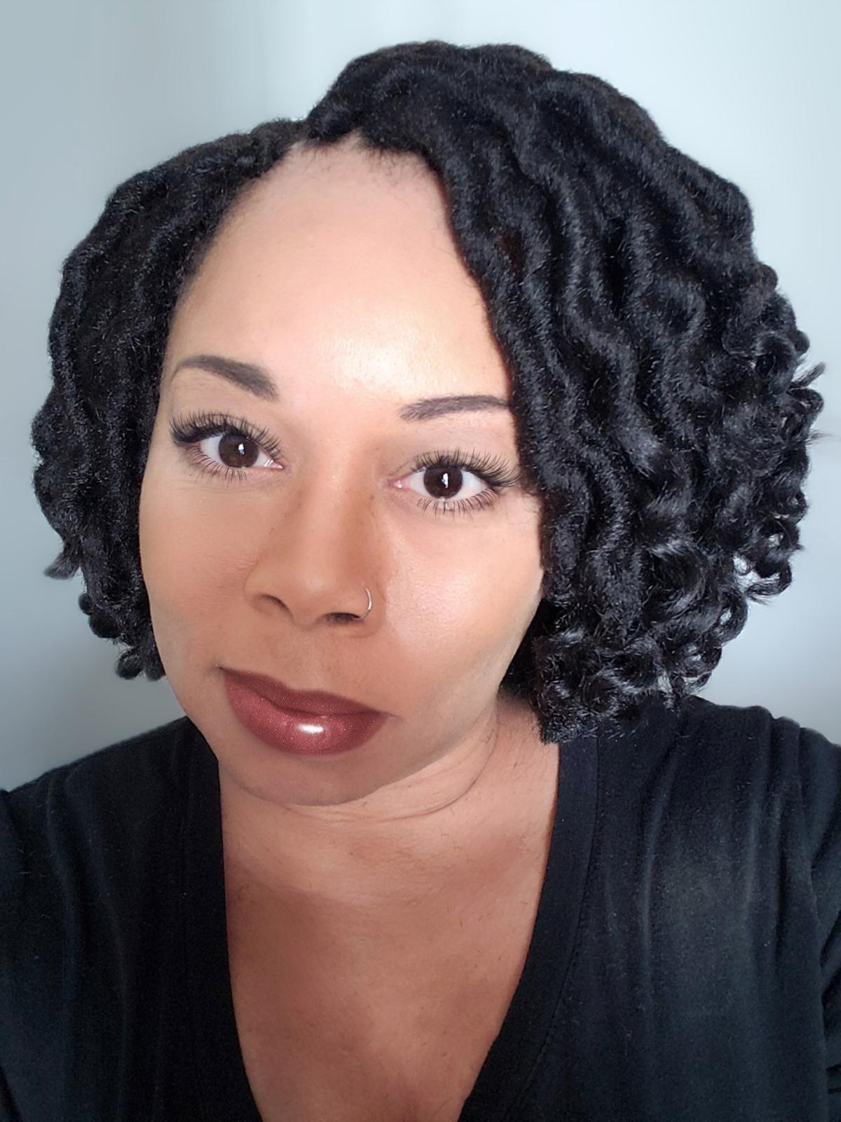 9 inch Curly Goddess Locs