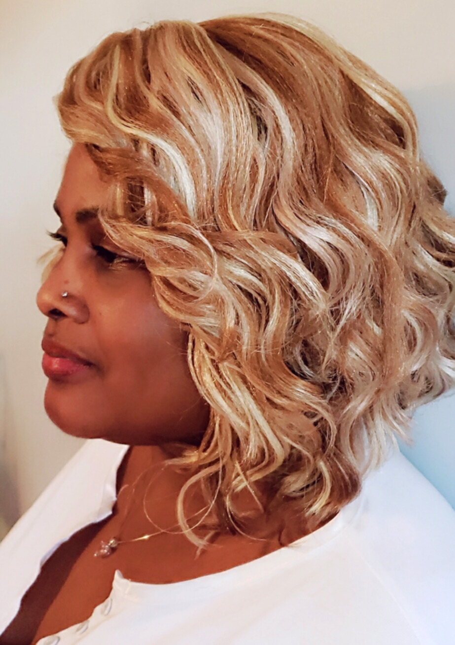 Blonde Kima Ocean Wave