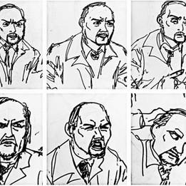 Michael Keaton Expressions Study