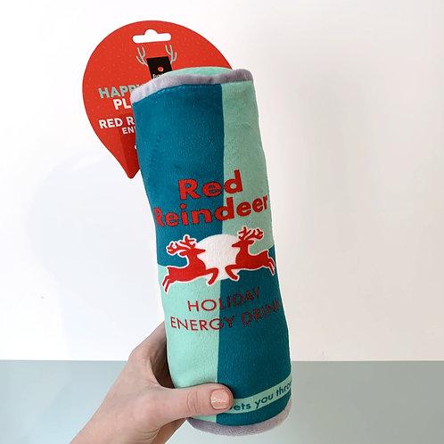 Christmas Red Reindeer Energy Drink