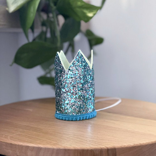 Glitter Crown | Teal