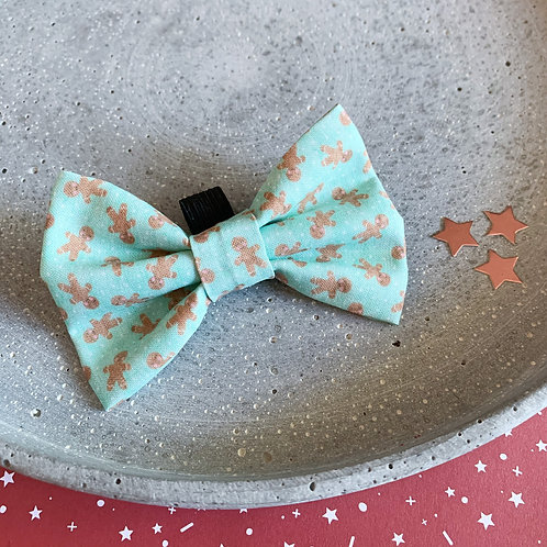 Gingerbread Bow Tie - Mint