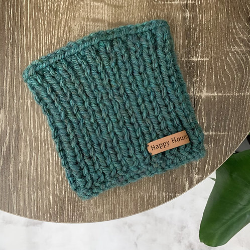 Chunky Knitted Snood Teal