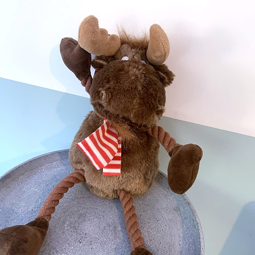 Christmas Moose Dog Toy
