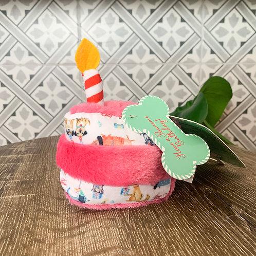 Birthday Slice Of Cake   Plush Toy