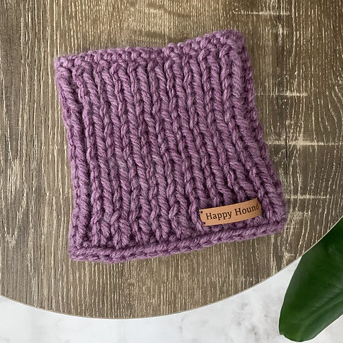 Chunky Knitted Snood Heather