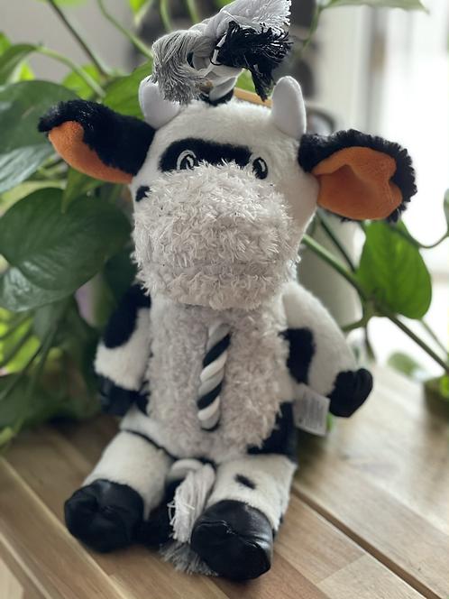 Farm Yard Rope Toy | Cow