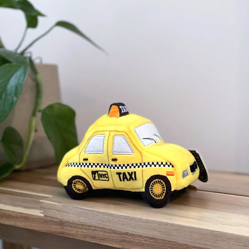 Canine Commute New Yap City Taxi| Plush Toy