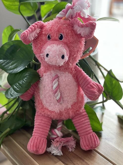 Farm Yard Rope Toy | Pig
