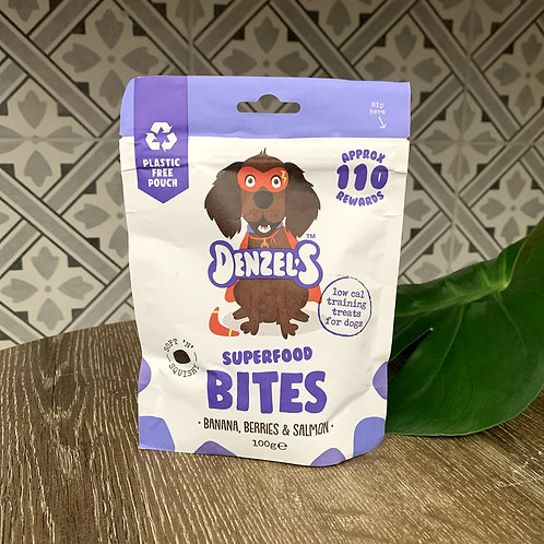 Superfood Bites | Soft 'n' Squishy Low Cal Training Treats | Denzels
