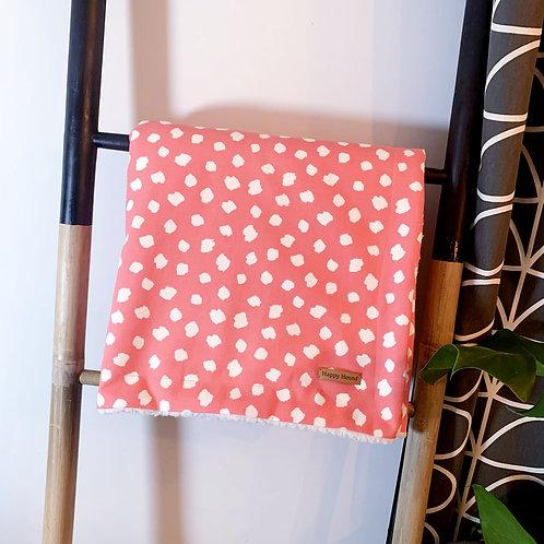 Handmade Blanket - Coral