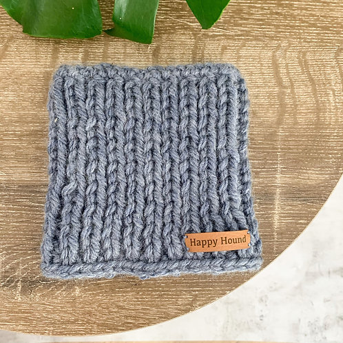 Chunky Knitted Snood | Denim