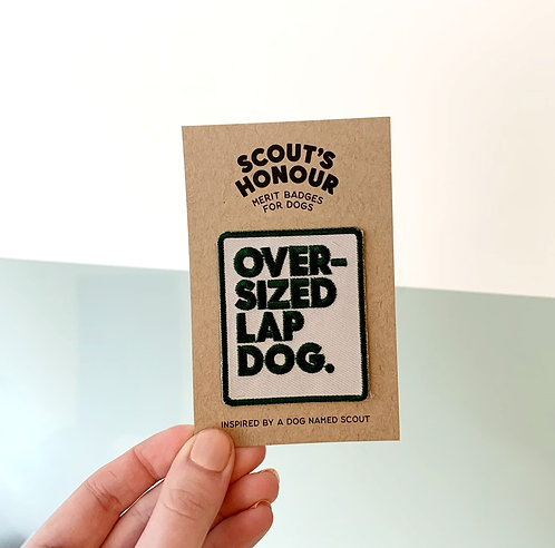 Merit Badge - Over Sized Lap Dog
