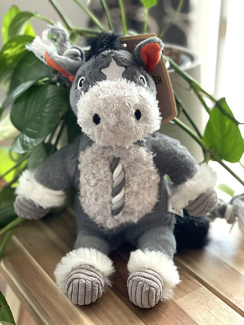 Farm Yard Rope Toy | Donkey