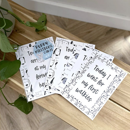 Puppy Milestone Cards
