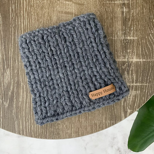 Chunky Knitted Snood Grey