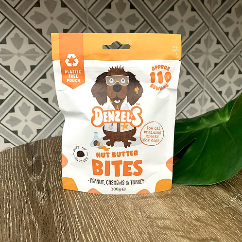 Nut Butter Bites | Soft 'n' Squishy Low Cal Training Treats | Denzels