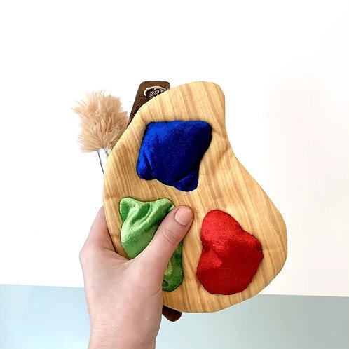 Back To School Puppy Palette Plush Dog Toy
