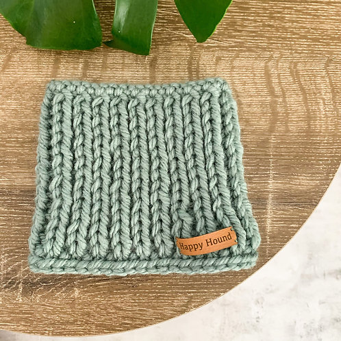 Chunky Knitted Snood | Ocean