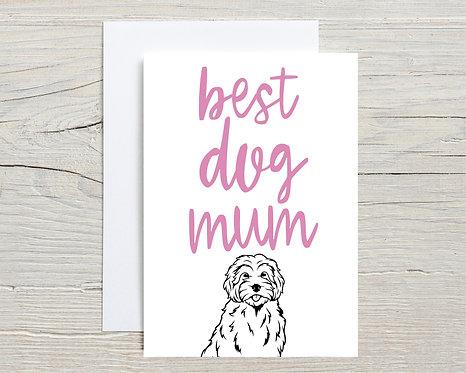 Card | Best Dog Mum