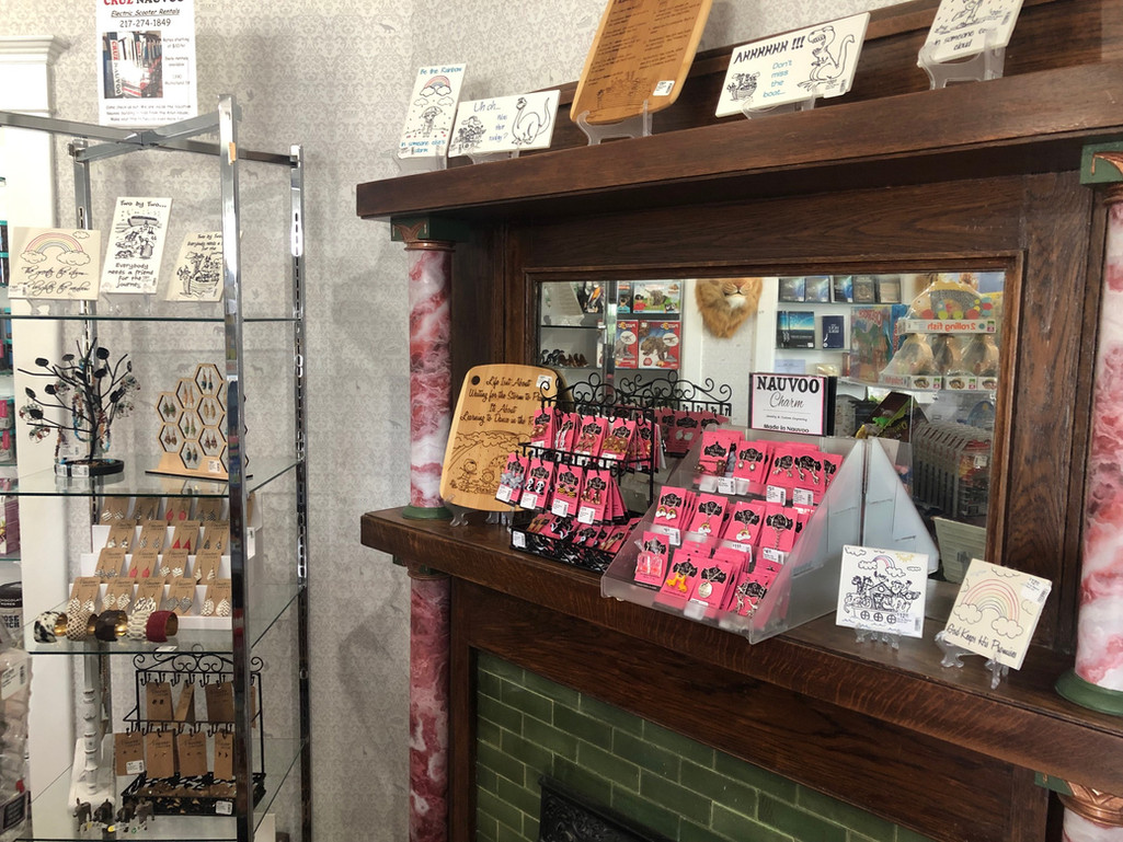 Local Products in the Gift Shop