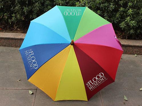 Flood Museum Rainbow Umbrella