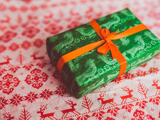 Conserve Christmas Wrapping Paper