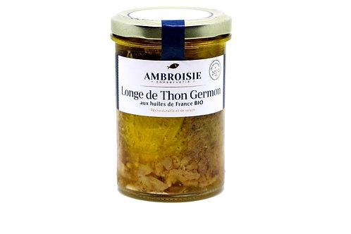 Longe deThon Germon aux huiles de France Bio