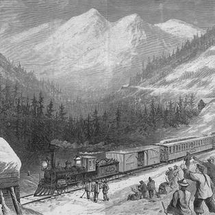 Chinese Railroad Workers_Sierra_Nevada