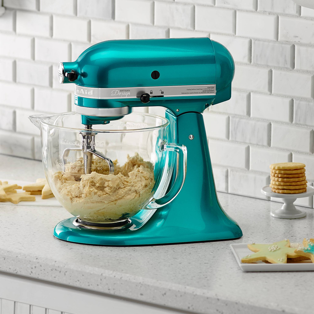 From baking cakes to making pasta, this mixer will be mom's best kitchen helper!