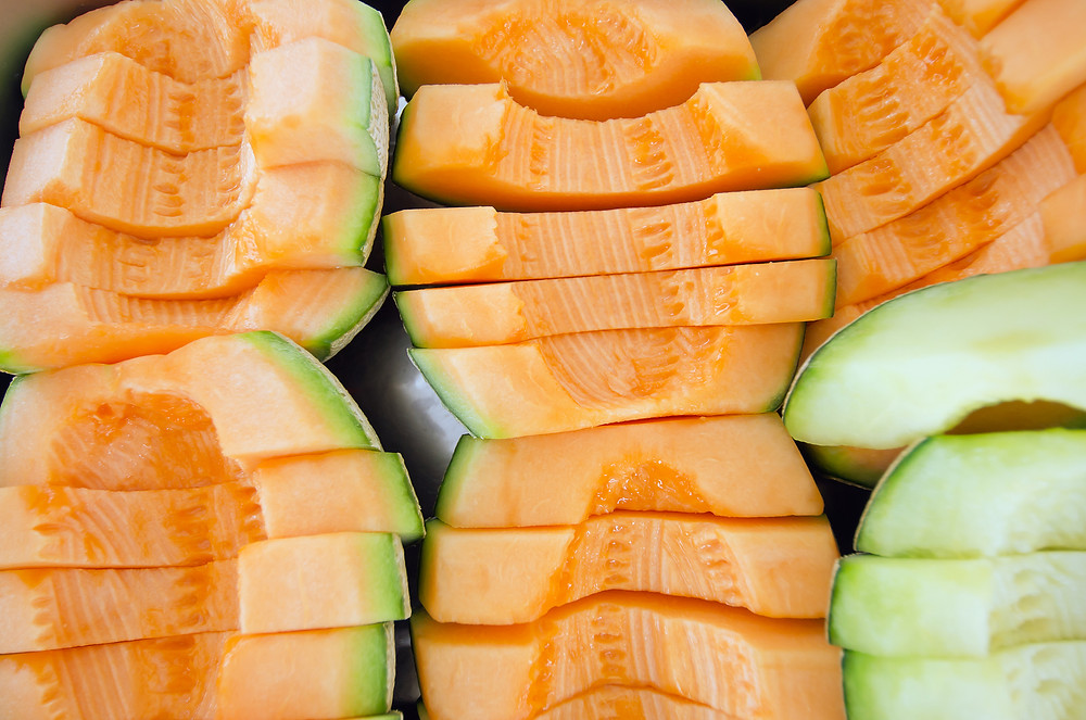 Two Melon Soup that will help keep you cool this summer!