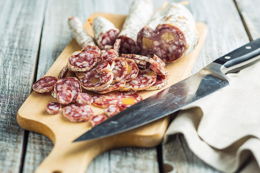 Salumi, also known as charcuteries, is an Italian staple.