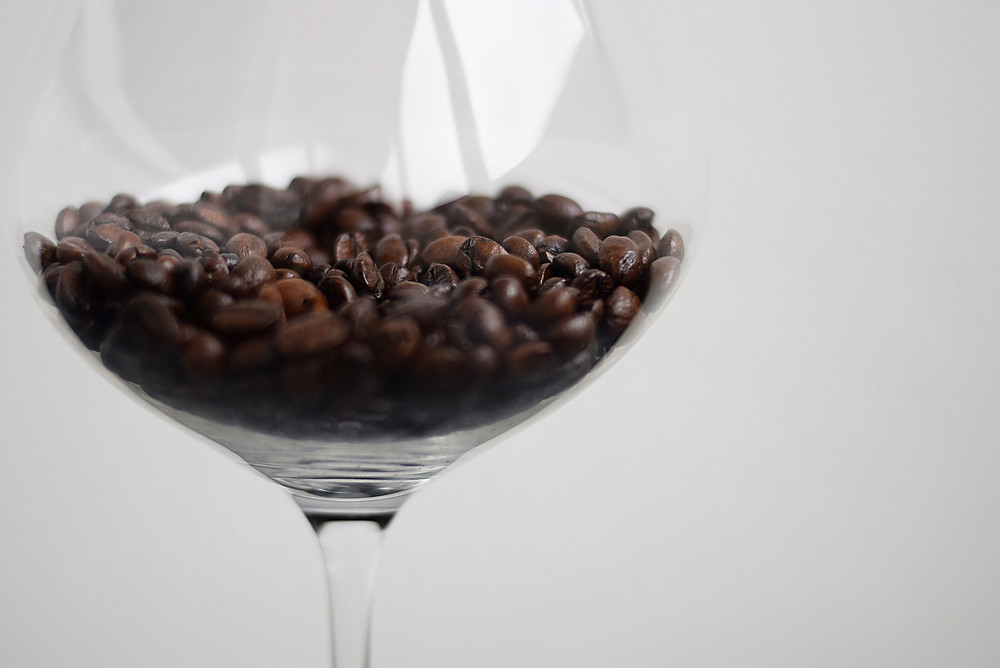 Wine infused coffee for sipping anytime of the day!