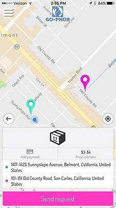 GO-PHOR map