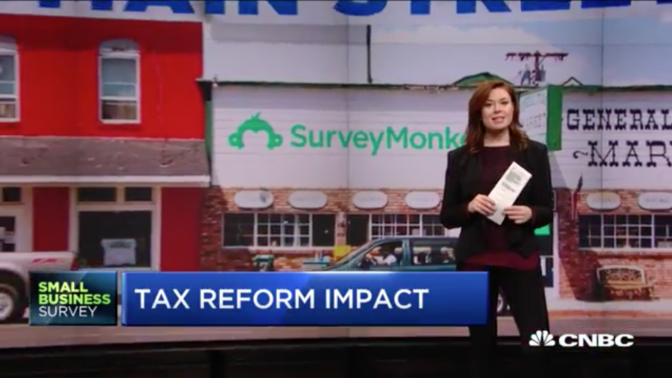 Video: Small-business confidence hits record high in 2018 after Trump tax-reform win