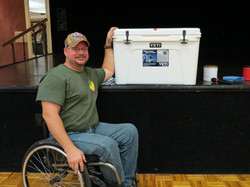 Bubba Won The Yeti Raffle