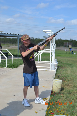 David Tries Some Skeet Shooting