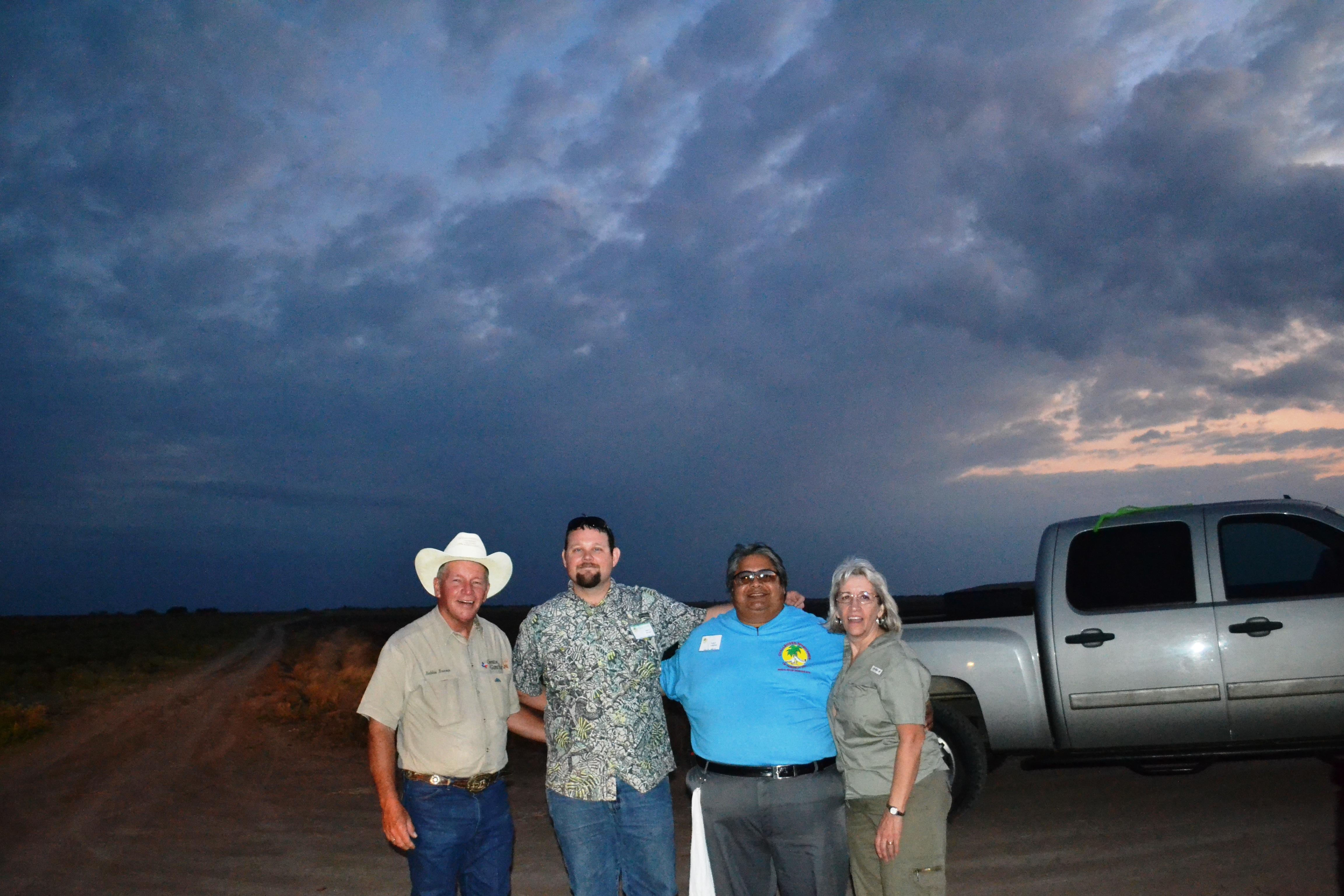 Bobbie, Brett, Pablo & Kathy